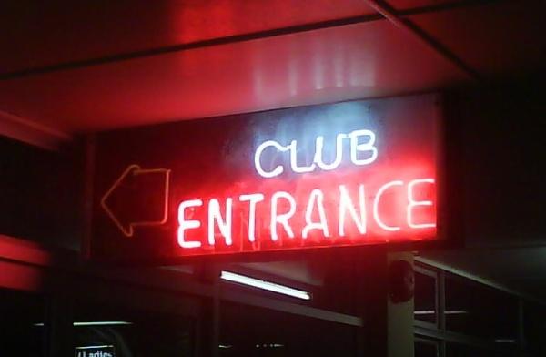 club-entrance